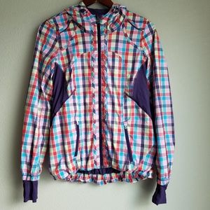 Lululemon Downtime Jacket Seawheeze size 4